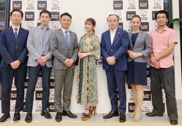『シブヤ・スマイル・プロジェクト』にて舟山久美子がアンバサダーに就任し、対談致しました。