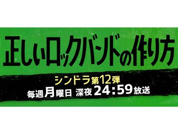 【藤林泰也】日本テレビ系ドラマ「正しいロックバンドの作り方」出演