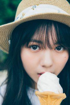 【川﨑帆々花】ヤンマガ Ice-アイス- 掲載!